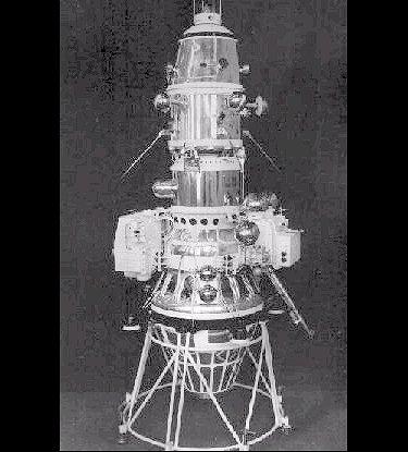 Sonda kosmiczna Łuna 10. Źródło: Wikimedia Commons