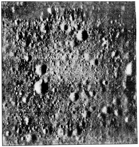 Łuna 12 - zdjęcie powierzchni Księżyca. Źródło: http://mentallandscape.com/C_CatalogMoon.htm