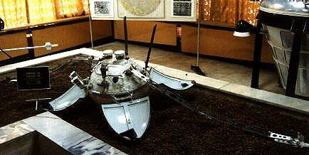 Sonda kosmiczna Łuna 13. Autor zdjęcia: Andy Salmon / www.astronautix.com