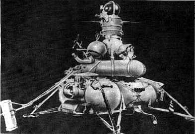 Sonda kosmiczna typu E-8-5. Źródło: Wikimedia Commons