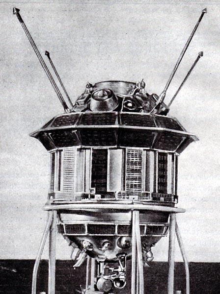 Łuna 3. Źródło: Wikimedia Commons