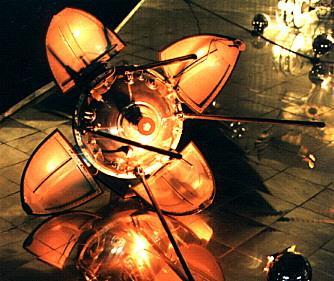 Łuna 9. Autor zdjęcia: Mark Wade / www.astronautix.com