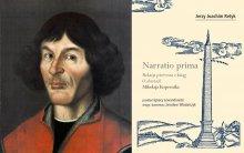"""Mikołaj Kopernik oraz okładka książki """"Narratio prima"""""""