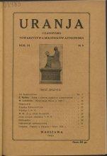 Urania nr 1/1924 (Uranja nr 1/1924)
