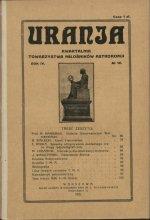 Urania nr 4/1925 (Uranja nr 4/1925)