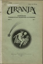 Urania nr 1/1926 (Uranja nr 1/1926)