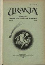 Urania nr 2/1926 (Uranja nr 2/1926)