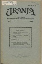 Urania nr 2/1927 (Uranja nr 2/1927)