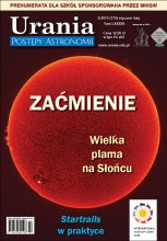 """Urania - Postępy Astronomii"" nr 1/2015"