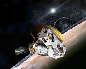Sonda New Horizons w wizji artysty