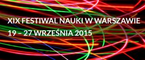 XIX Festiwal Nauki w Warszawie
