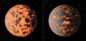 Planeta 55 Cancri e - wizja artystyczna