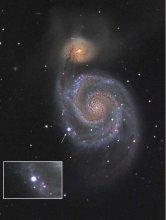 Supernowa SN2011dh w Galaktyce Wir (M51)