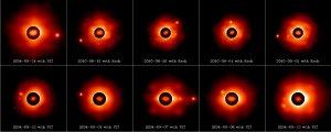 Potrójna planetoida (87) Sylvia