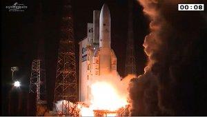 Start rakiety Ariane 5 w ramach misji VA299