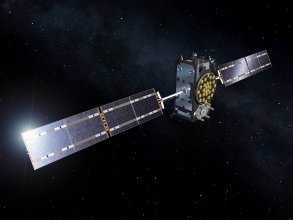 Artist's view of a Galileo Full Operational Capability (FOC) satellite