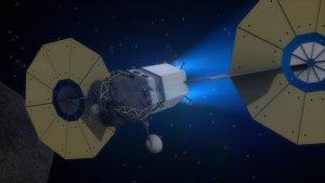 Asteroid Redirect Mission - wizja artystyczna
