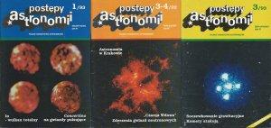 Archiwalne Postępy Astronomii z lat 1992 i 1993