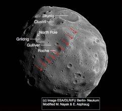 Księżyc Marsa - Fobos
