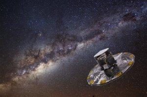 Obserwatorium kosmiczne Gaia (wizja artysty)