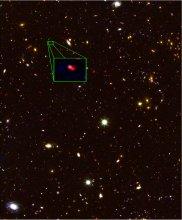 Galaktyka z8_GND_5296 z przesunięciu ku czerwieni z = 7,51