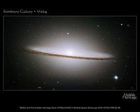 Galaktyka Sombrero (M104, NGC 4594)