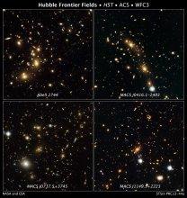 Gromady galaktyk obserowane w projekcie Frontier Fields