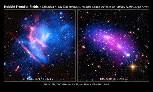 Gromady galaktyk MACS J0416.1-2403 oraz MACS J0717.5+3745