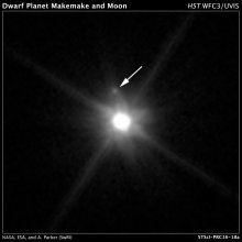 Księżyc planety karłowatej Makemake