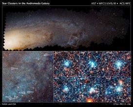 Gromady gwiazd w M31