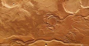 Mangala Valles na Marsie