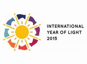 Logo Międzynarodowego Roku Światła 2015