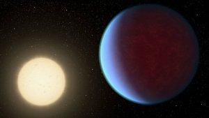 Wizja artystyczna planety Janssen