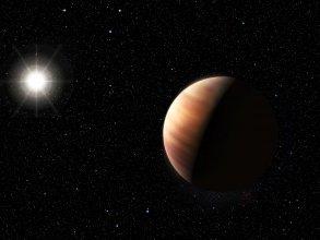 Artystyczna wizja bliźniaczego Jowisza
