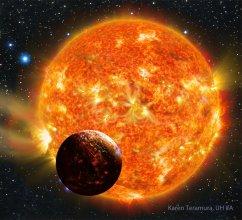 Wizja artystyczna planety pozasłonecznej Kepler 78b