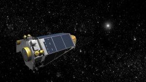 Teleskop Keplera - wizja artystyczna