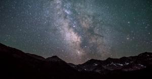 Droga Mleczna nad Ketchum