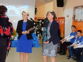Koordynatorki Astrobazy Kruszwica odbierają dyplom