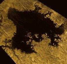 Metanowe morze Ligeia Mare na Tytanie