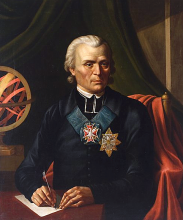 Portret Marcina Poczobutta-Odlanickiego pędzila Józefa Oleszkiewicza