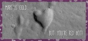 Walentynkowa kartka od NASA