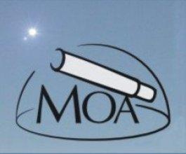 Logo Młodzieżowego Obserwatorium Astronomicznego w Niepołomicach (MOA)
