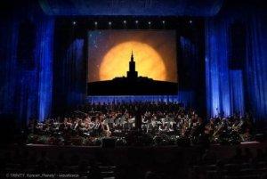 Wizualizacja koncertu Moc Klasyki - Planety