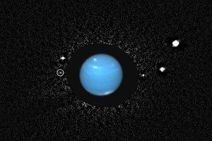 Najada i inne księżyce Neptuna