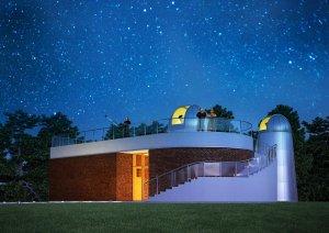 Artystyczna wizja obserwatorium, które powstaje w Koszalinie