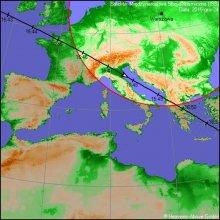 Stacja ISS widoczna na niebie nad Polską