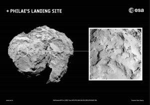 Obszar J - wybrany do lądowania Philae na jądrze komety 67P/Churyumov–Gerasimenko