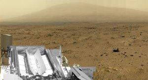 Fragment panoramy Marsa z łazika Curiosity
