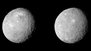 Ceres sfotografowana przez sondę Dawn