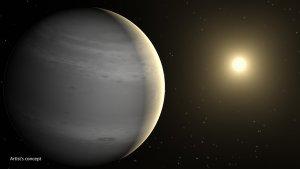 Artystyczna wizja planety GJ 436b